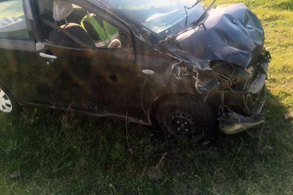 Подросток без спроса взял машину, перевернулся и погиб в Иркутской области.