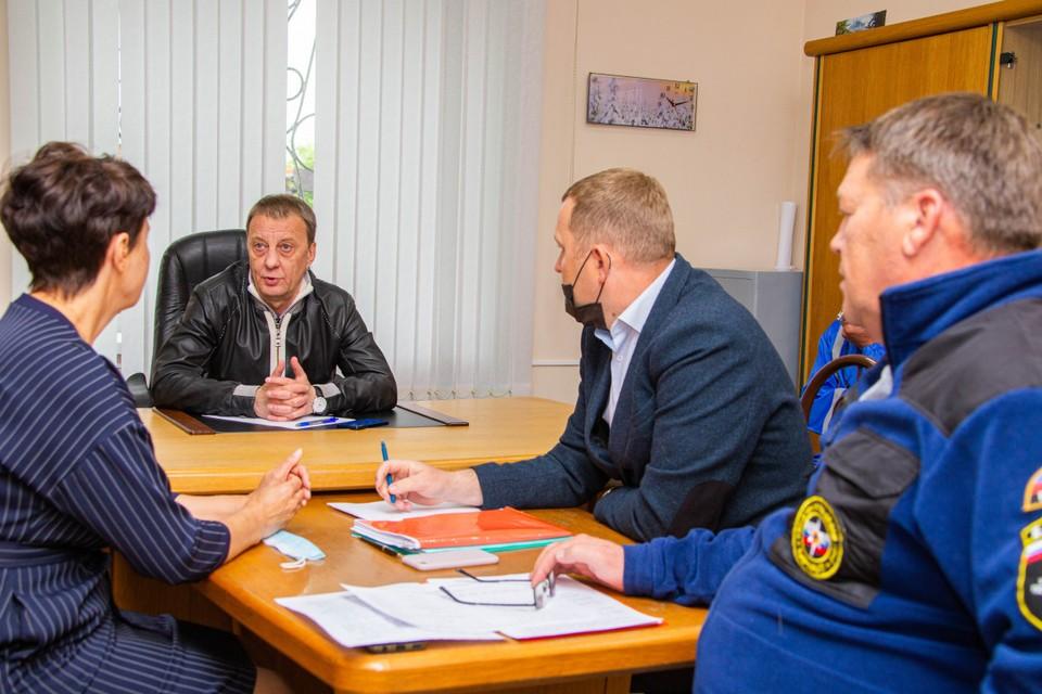 Вячеслав Франк провел совещание.
