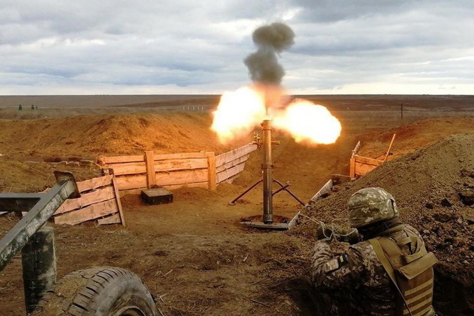 По Донецку и Горловке стреляли из 120-миллиметровых минометов. Фото: Пресс-центр штаба ООС.