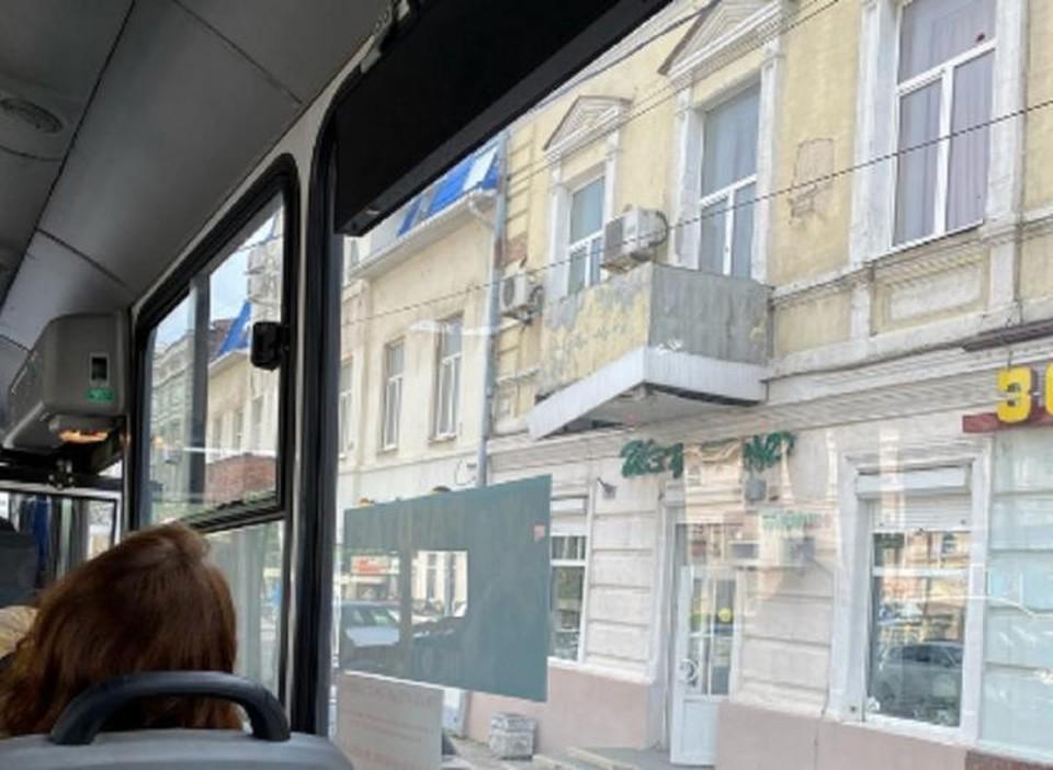 Ростовчан обеспокоил вид балкона многоквартирного дома. Фото: группа «Ростов Главный»