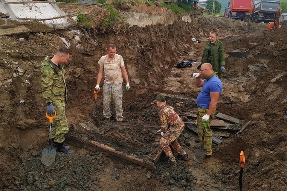 Массовое захоронение нашли случайно строители. Фото:«Авиапоиска».