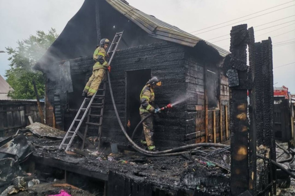Названа причина пожара в Тайшете, где погибли отец и двое детей