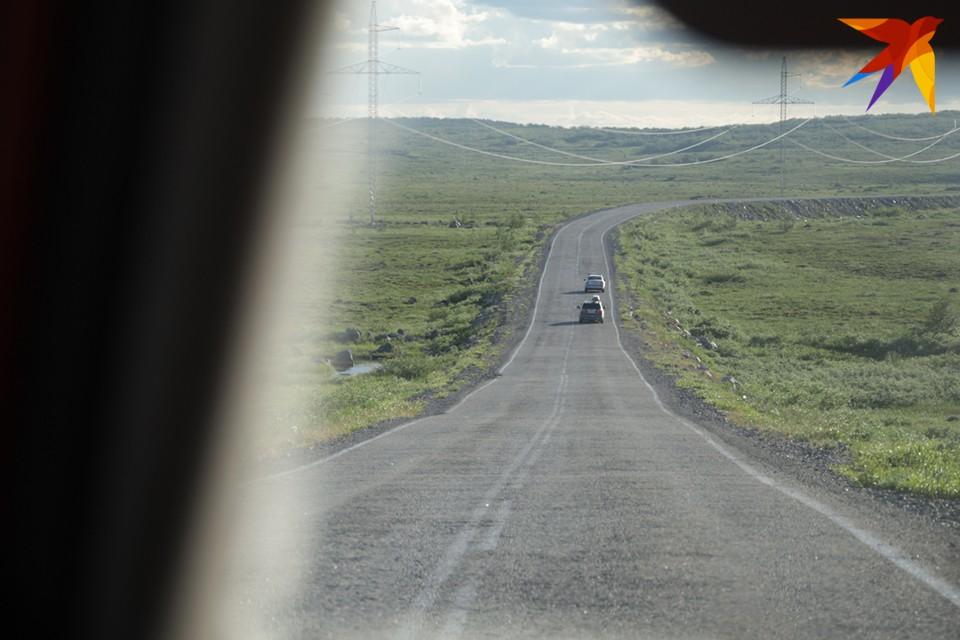 На этой неделе из-за проведения взрывных работ вновь ограничат движение по дороге на Североморск.