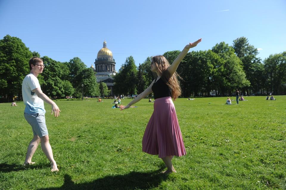 Во вторник погода в Петербурге будет хорошей.