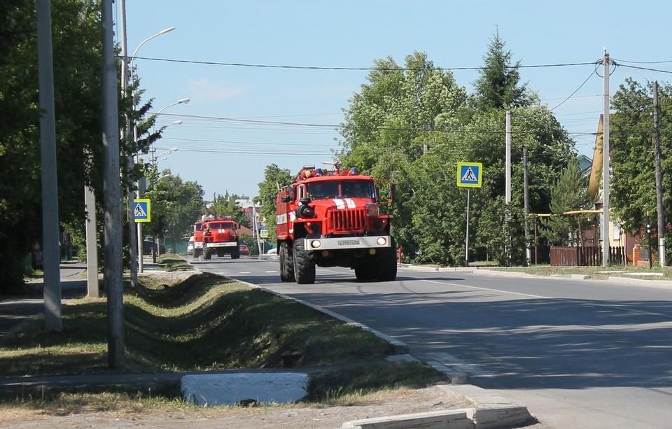 За сутки в Тюменской области возникло четыре пожара.