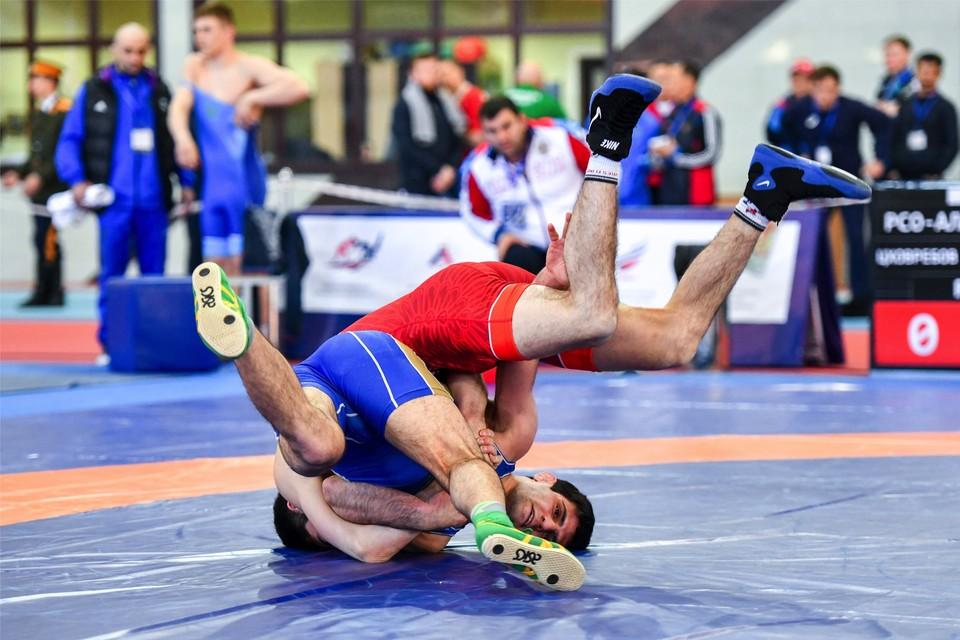 Спортсмен из Иркутска победил в международном турнире по вольной борьбе. ФОТО: из архива министерства.