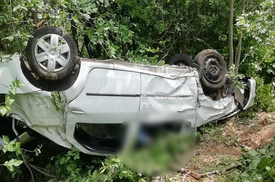 Водитель погиб на месте ДТП, пассажирка - в больнице Фото: УГИБДД России по Тверской области