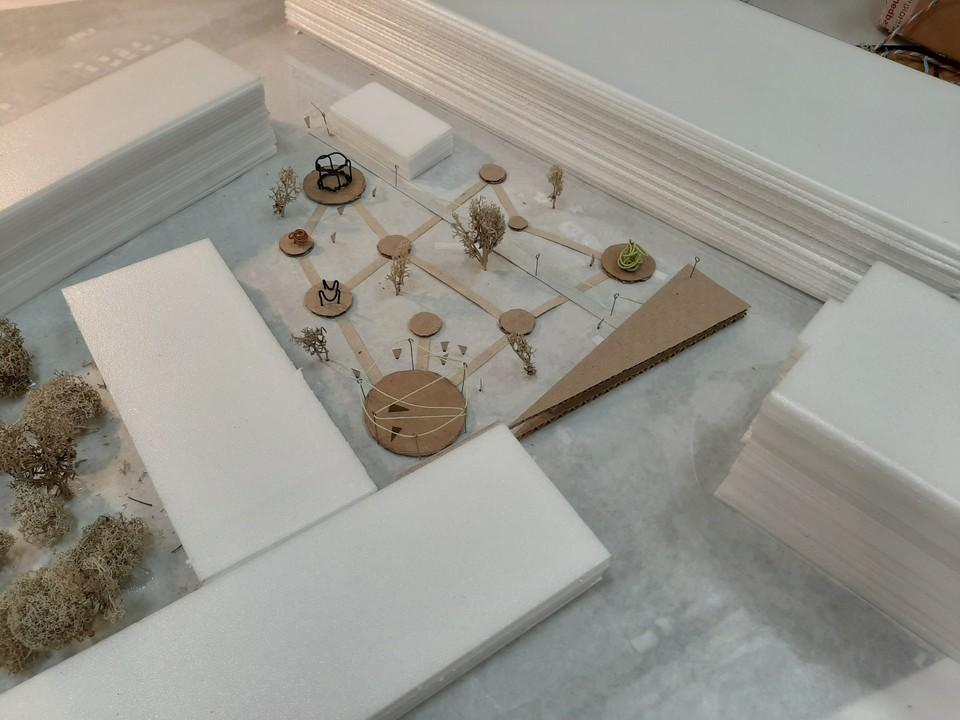 Новое пространство для досуга творческих томичей появится на площади Соляной. Фото: пресс-служба ТГАСУ.