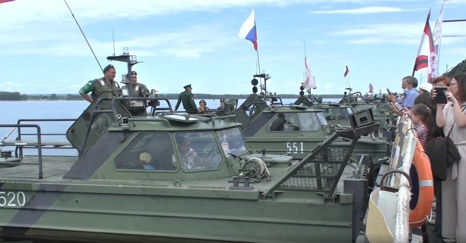 В Самаре побывал музей инженерных войск. Фото - скриншот