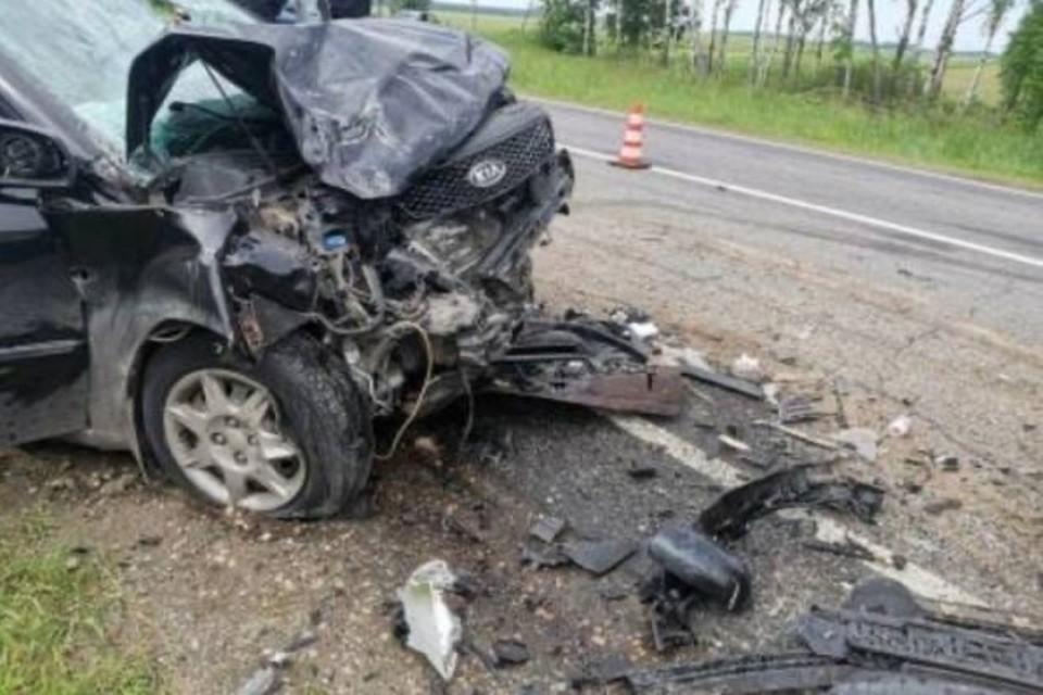 В смертельном ДТП в Климовском районе пострадали двое школьников. Фото: УГИБДД УМВД России по Брянской области.