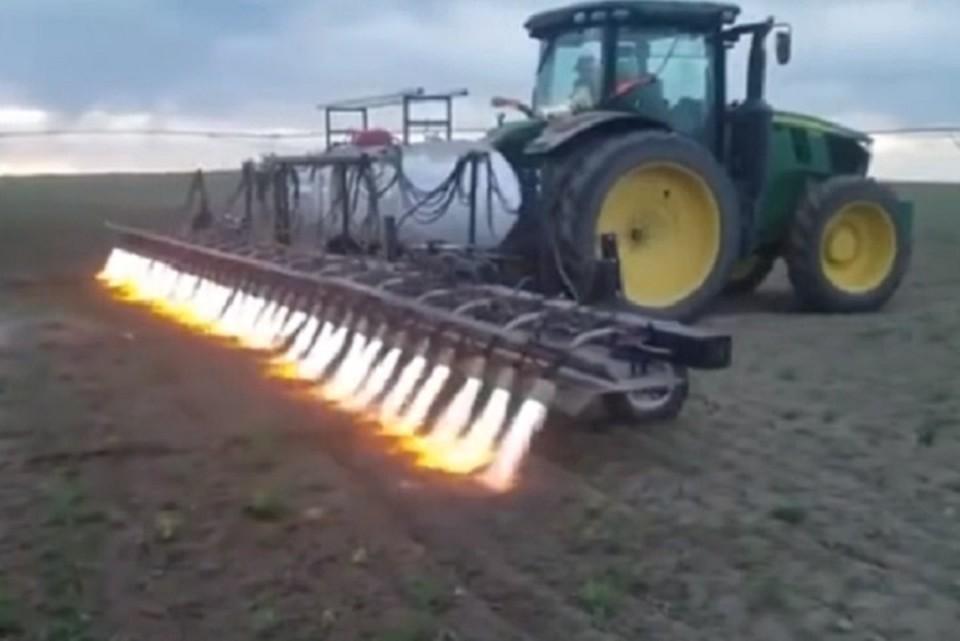 Чудо-трактор сбережет экологию, как считают производители.