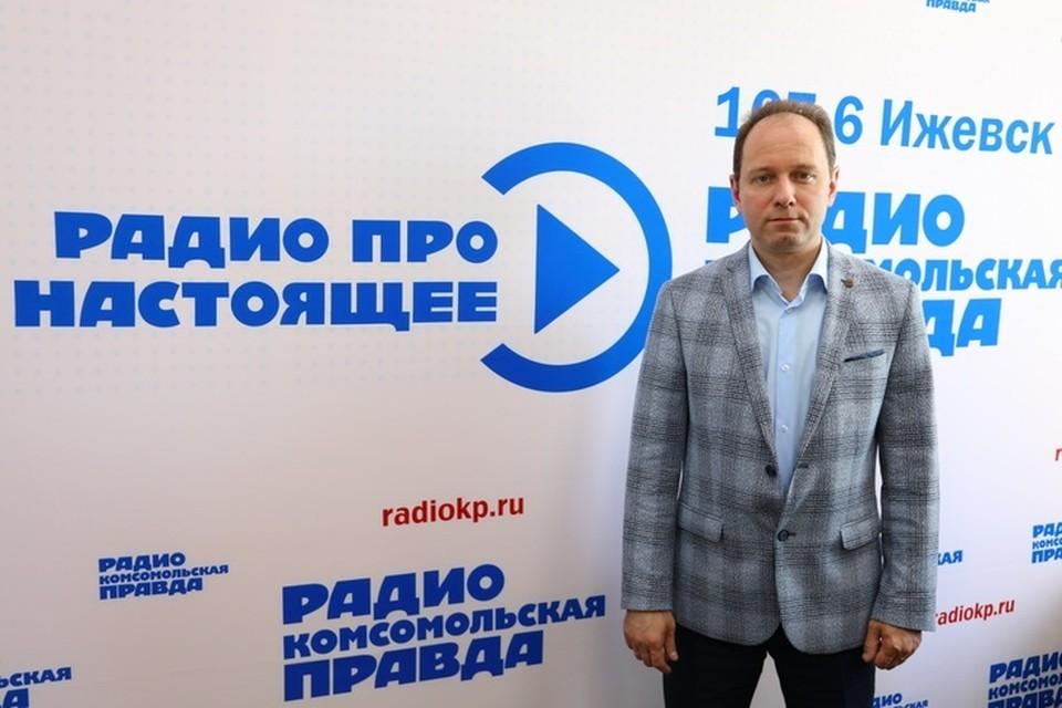 Тимур Валеев, директор Территориального фонда обязательного медицинского страхования Удмуртской Республики