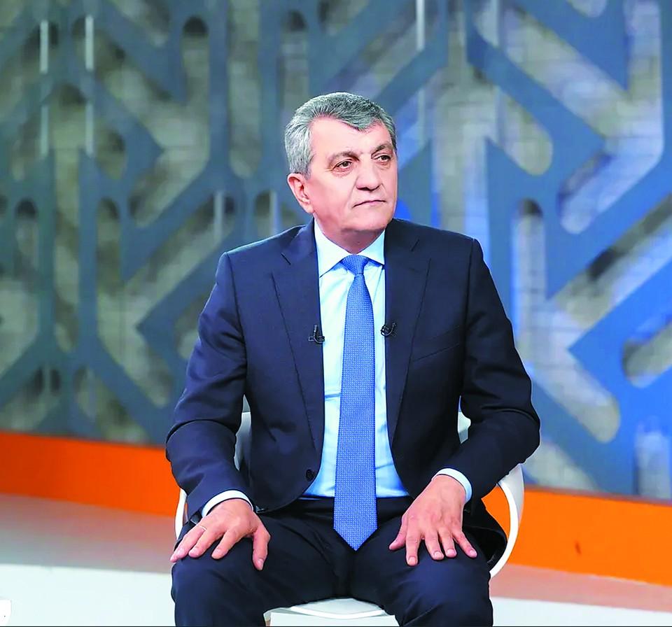 Врио главы Северной Осетии Сергей Меняйло.
