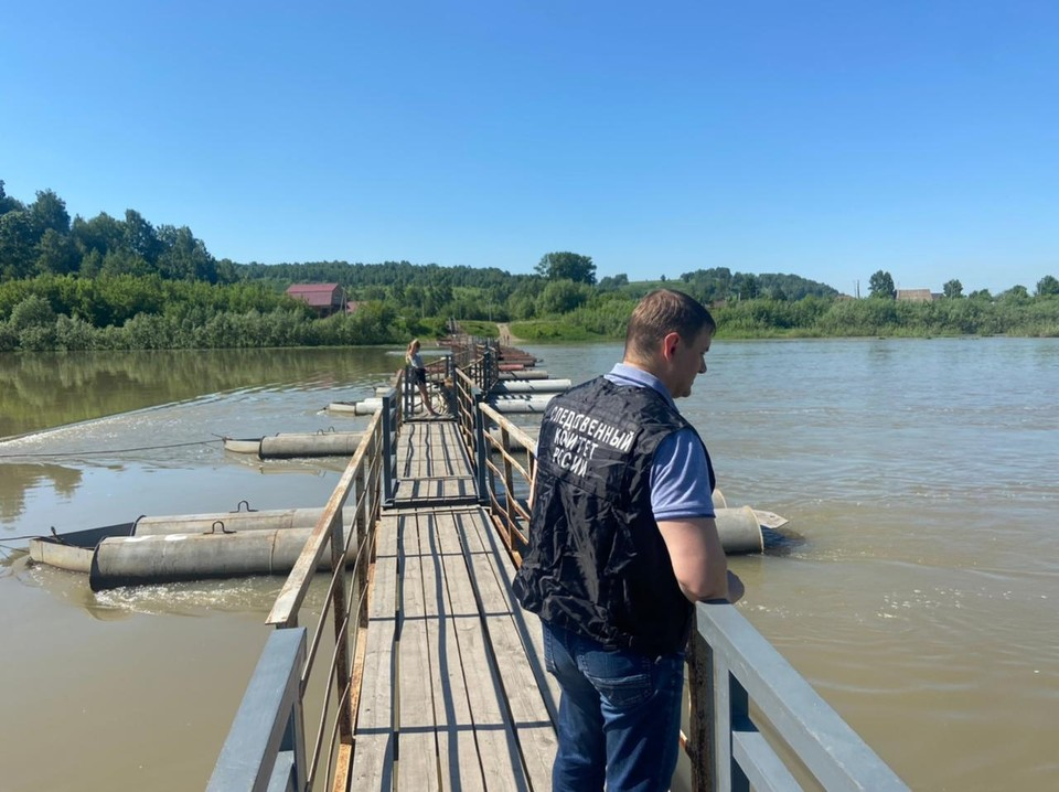 На юге Кузбасса утонула четырехлетняя девочка. Фото: СУ СК РФ по Кемеровской области.