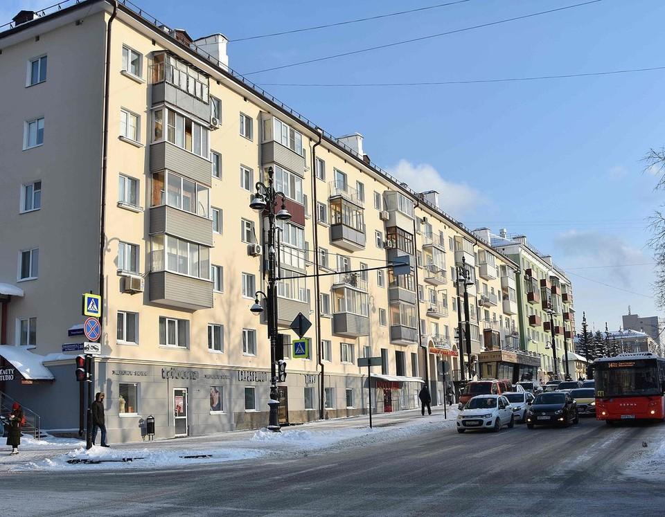 Отреставрированный дом на Компросе; Фото: Фонд капитального ремонта Пермского края