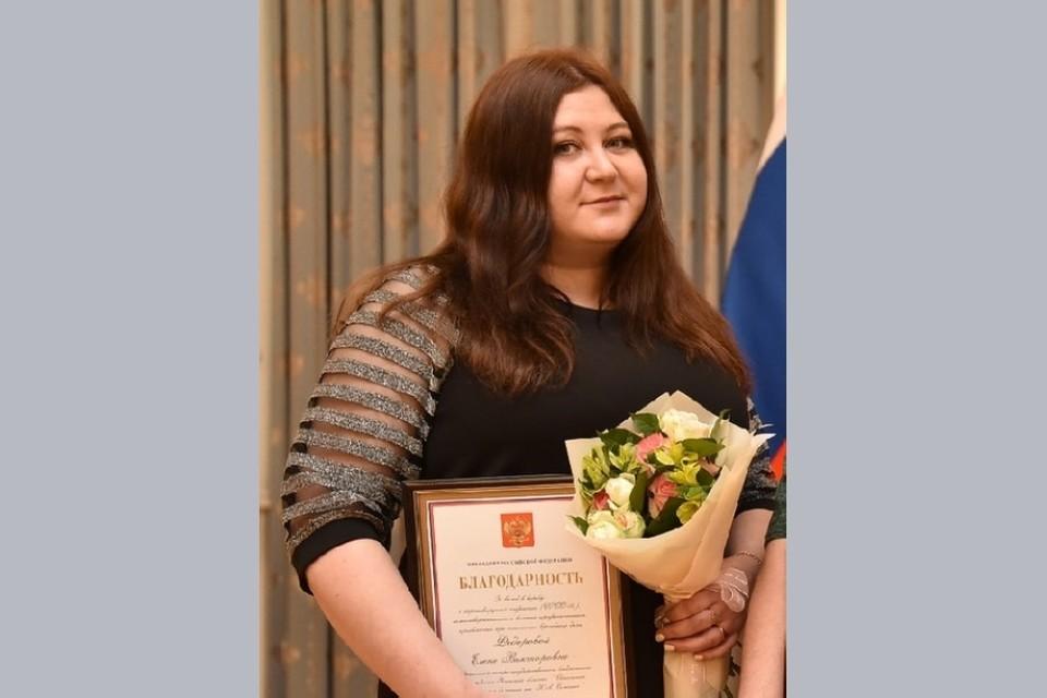 В марте медсестра Елена Федорова, которая борется с коронавирусом на передовой, получила благодарность Президента РФ.