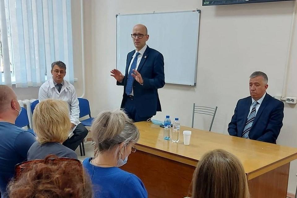 Ковидный госпиталь вновь хотят открыть в хабаровской больнице №11