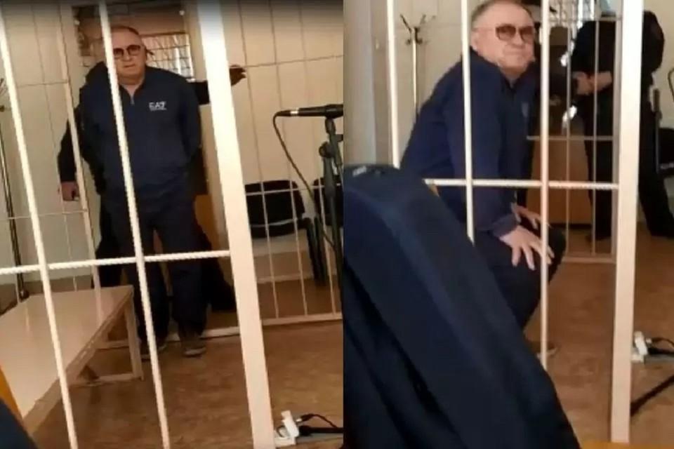 В Новосибирске продлили арест экс-кандидату в мэры Сергею Проничеву. Фото: стоп-кадр.