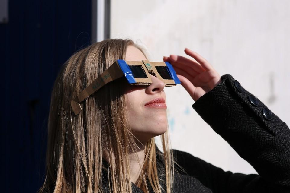 Наблюдать солнечное затмение можно будет из любой точки города.