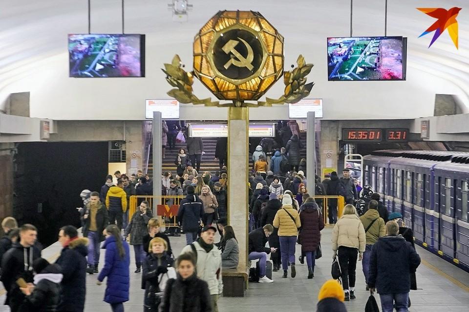 В метро Минска 10 июня пассажир упал на рельсы.