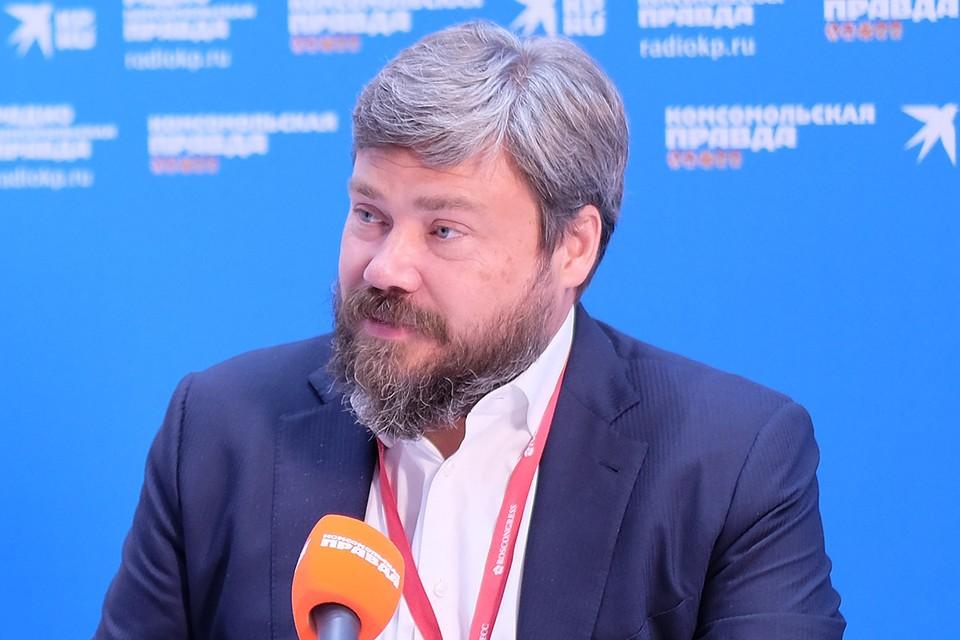 Константин Малофеев. Фото Василия ВОСТРУХИНА