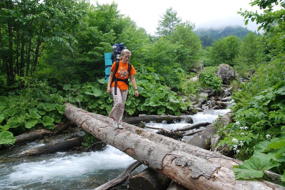 Окружающая природа вдохновляет на приключения.