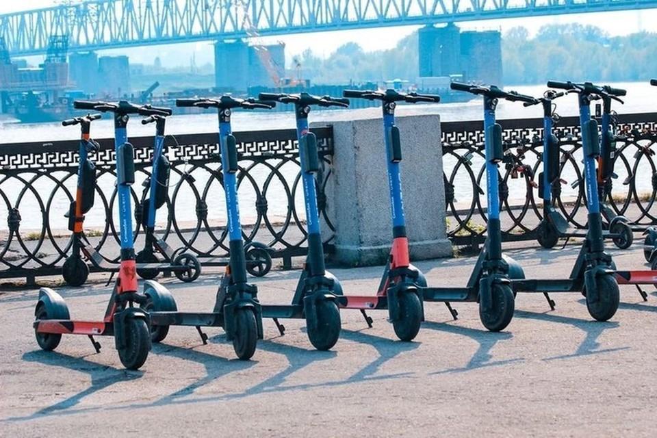 В Новосибирске ввели ограничения, касающиеся передвижения на электросамокатах.