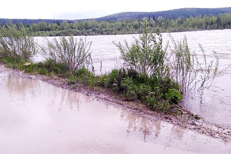 МЧС: уровень воды в реках Иркутской области вновь повысится
