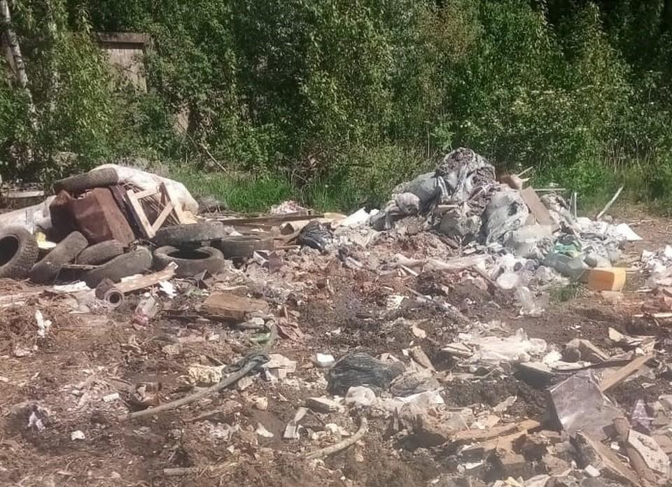 Огромную свалку начали ликвидировать в Гагарине. Фото: Региональный оператор ТКО Смоленской области.