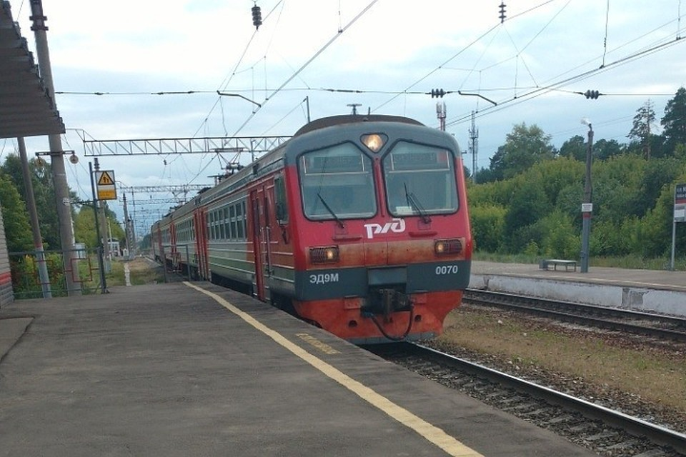 На конечную станцию поезд будет приходить на 34 минуты позже.