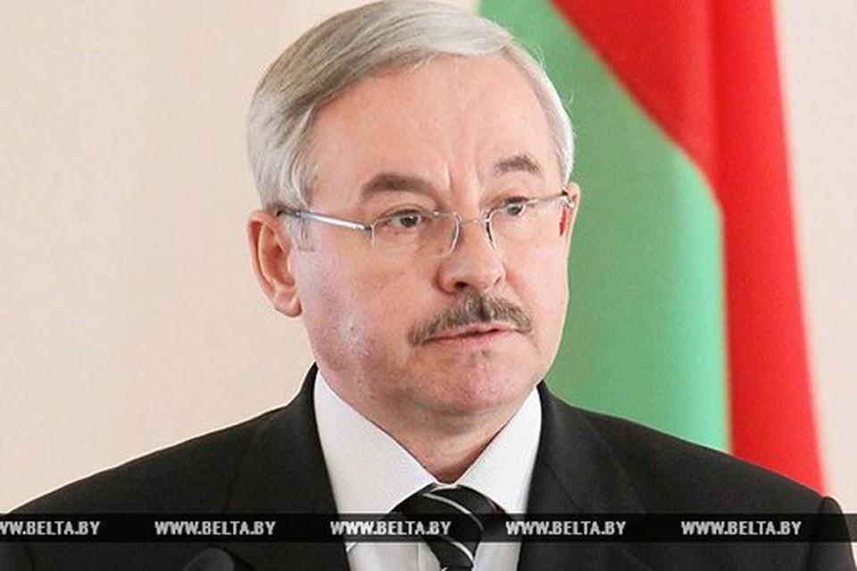 Управделами президента Беларуси Виктор Шейман подал в отставку. Фото: БелТА.