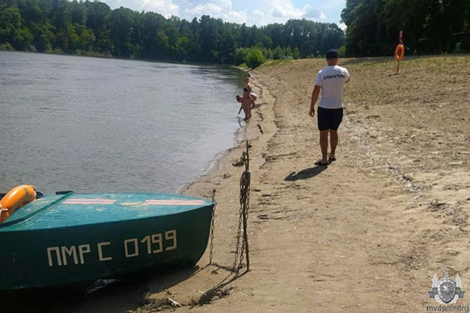 Гражданин России едва не утонул в Днестре (Фото: МВД Приднестровья).