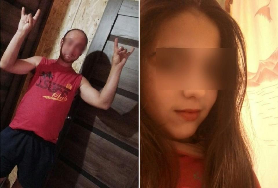 Многие только после смерти девочки (на фото справа) узнали, что она неродная дочь для своего отца.