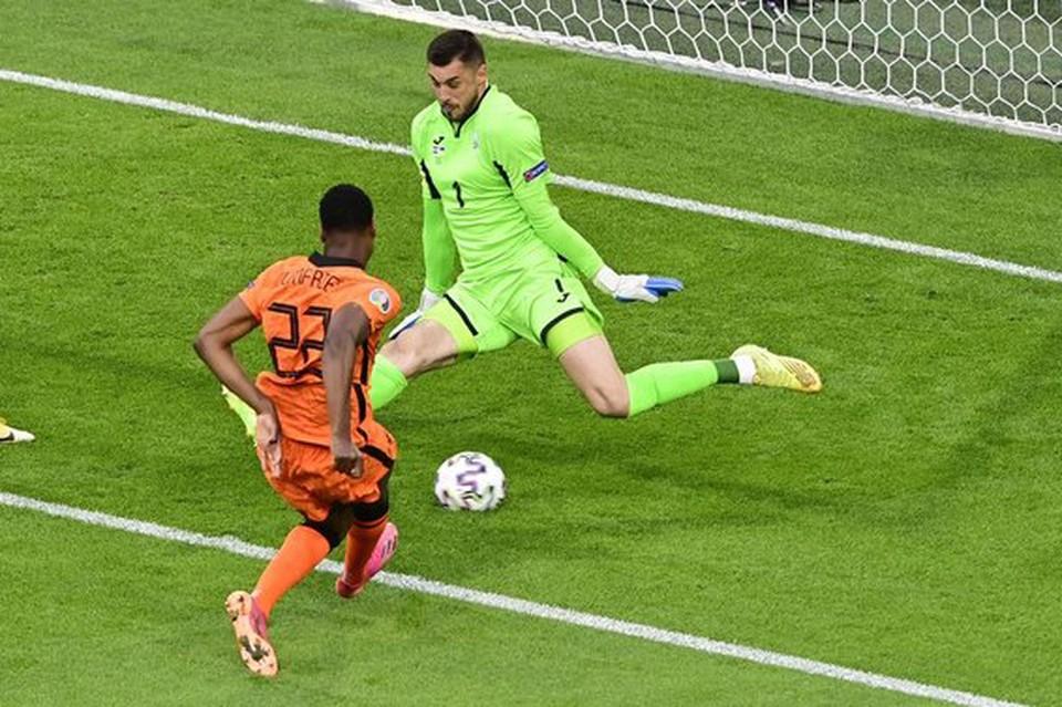Сборная Нидерландов одержала победу над национальной командой Украины.