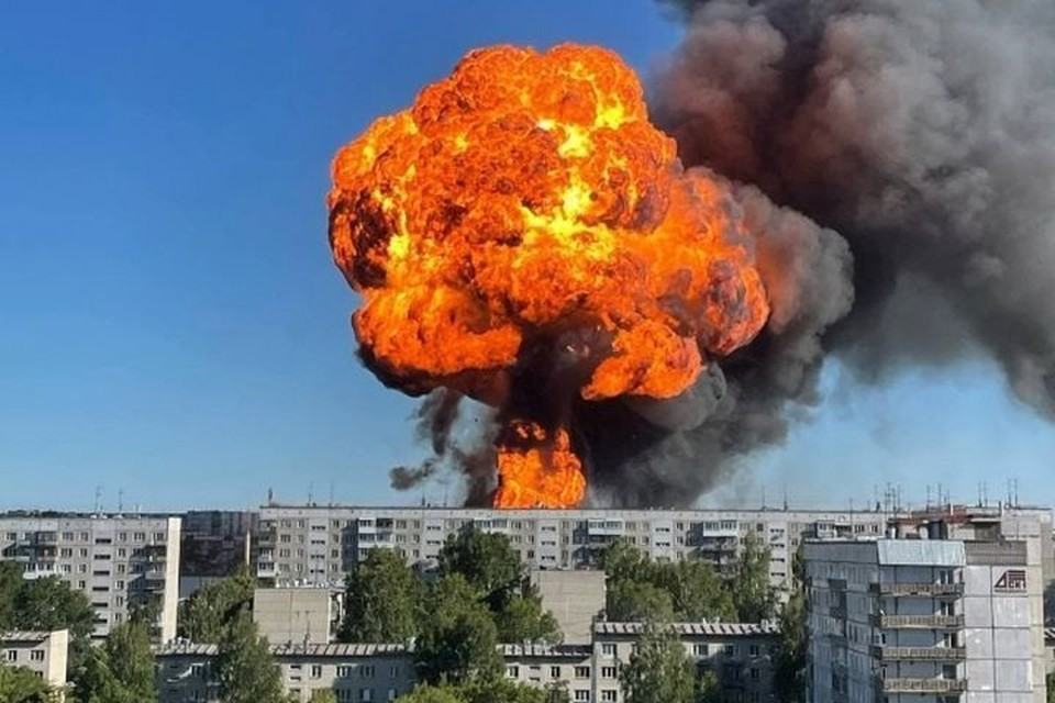 Взрыв прогремел вечером 14 июня.