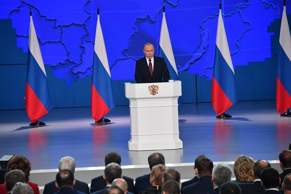 Путин заявил, что для него не существует более значимой задачи, чем укрепление России