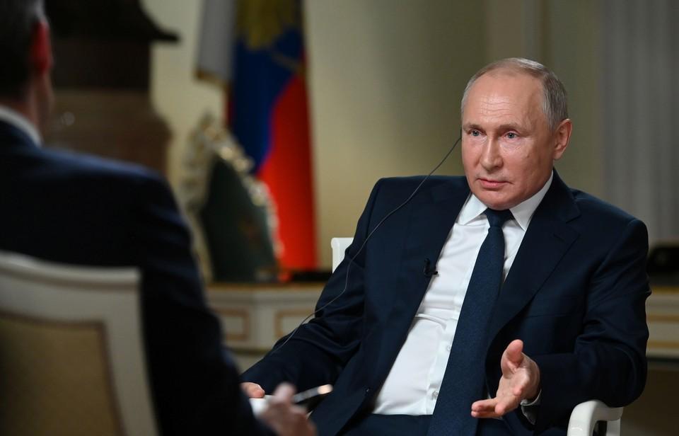 Владимир Путин рассказал о развитии политической системы в России