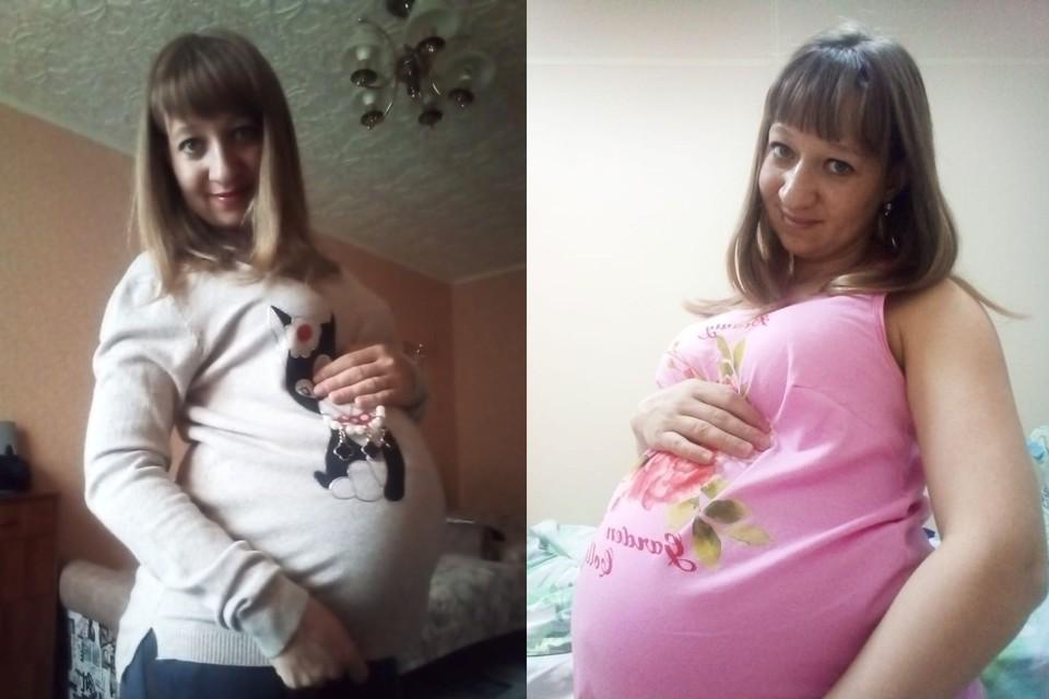 Ирина родила ребенка 5 января. Фото: предоставлено Ириной ЛЕВЧЕНКО.