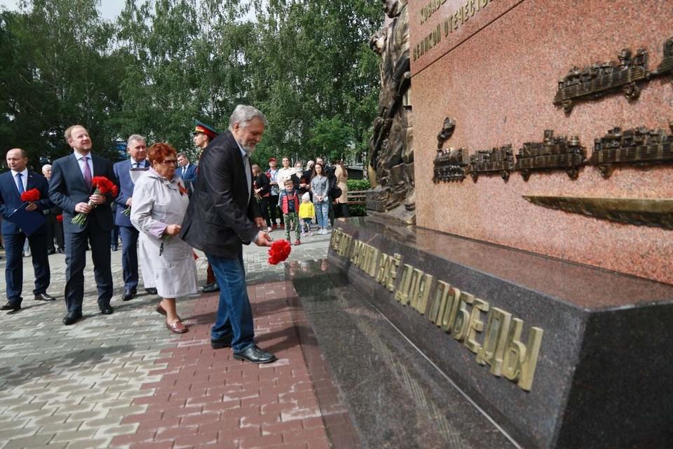 В Барнауле установили новый памятный знак