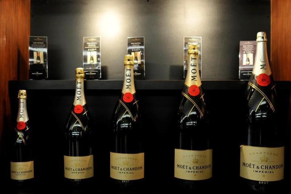Moet Hennessy объявила о приостановке поставок шампанского в Россию