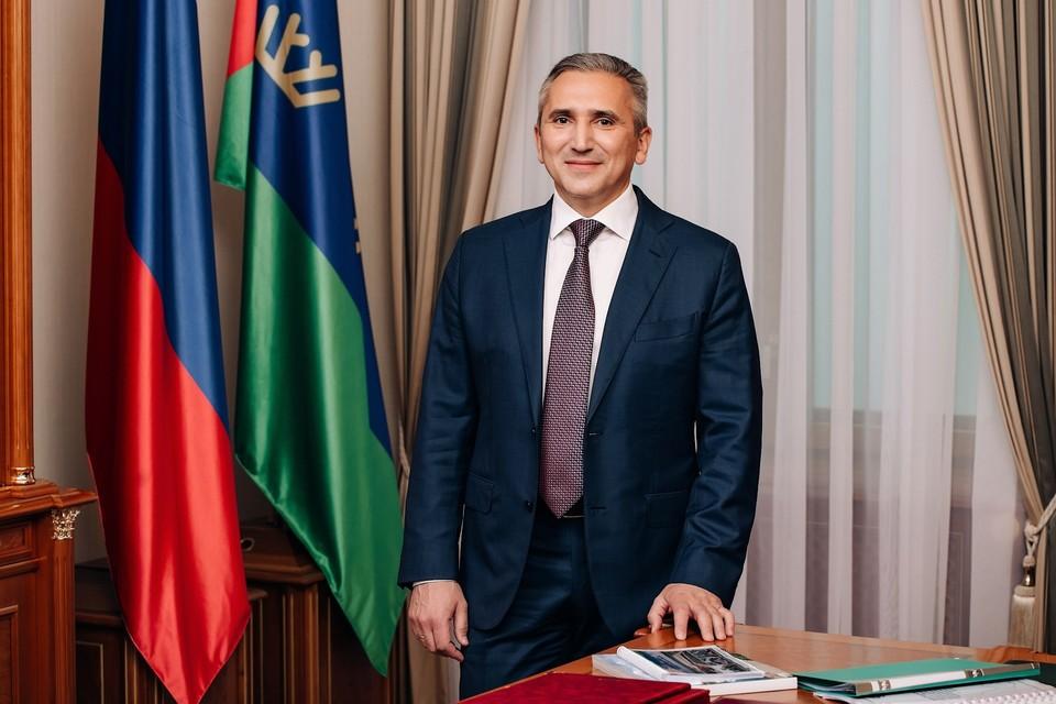 Губернатор Александр Моор поздравил тюмненцев с Днем семьи, любви и верности