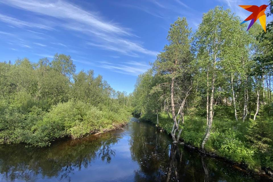 Реки Мурманской области из-за жары стали чуть теплее.