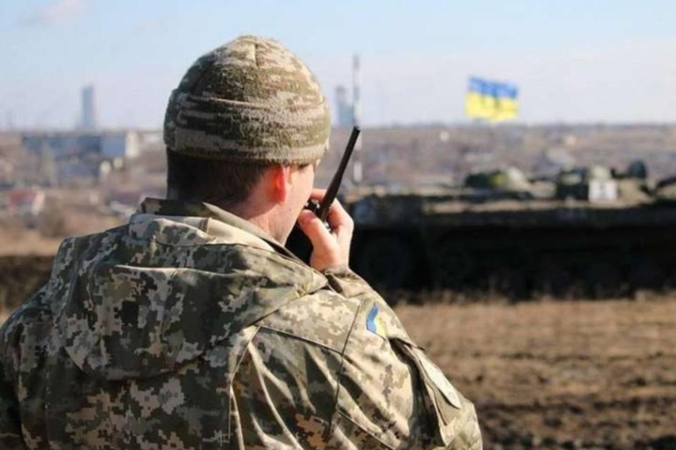 Украинские военные шесть раз за сутки нарушили «перемирие» в ЛНР. Фото: штаб ООС