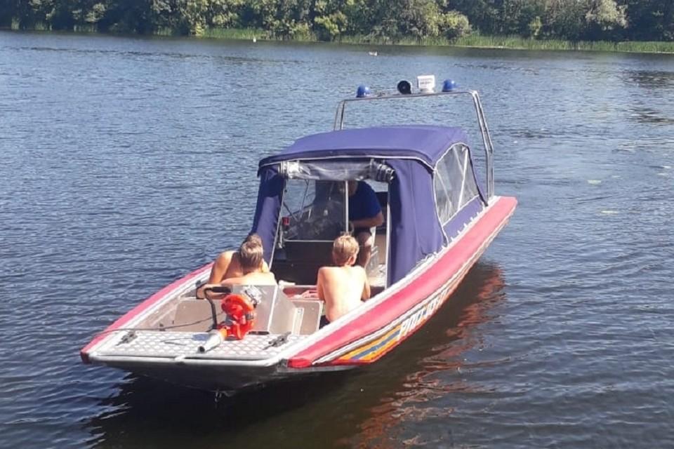 В Липецке в реке Воронеж едва не утонули дети