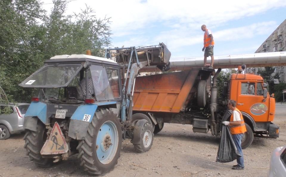 В Астрахани ликвидируют незаконные гаражи