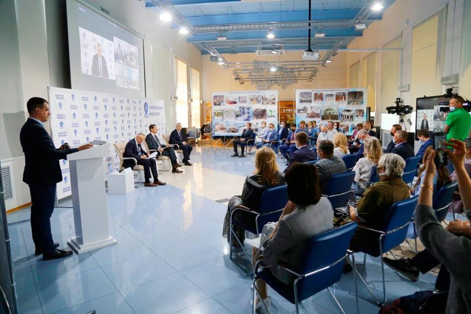 В онлайн-форуме «Единой России» приняли участие 30 человек очно и свыше 600 человек подключились онлайн. Фото предоставлено пресс-службой НРО партии «Единая Россия».