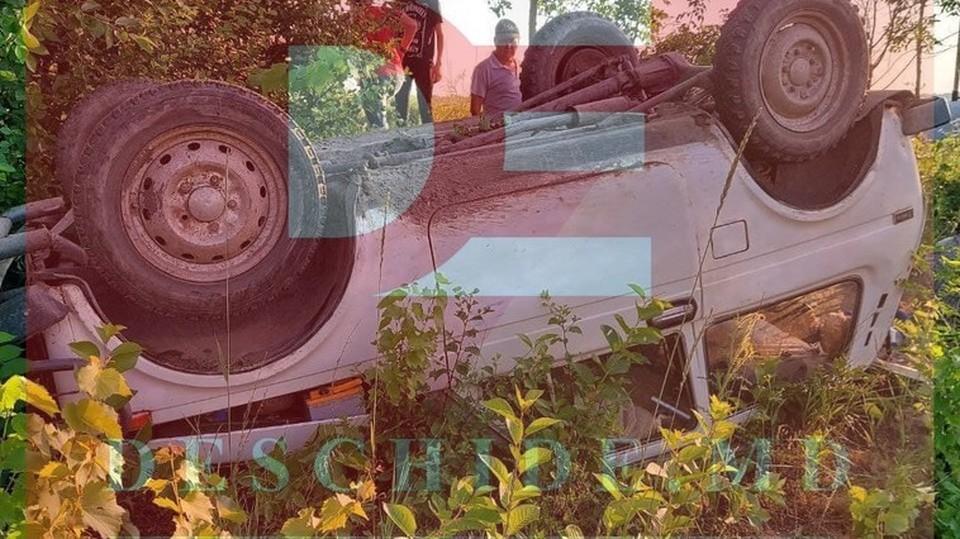 В аварии пострадали пожилые супруги (Фото: deschide.md).