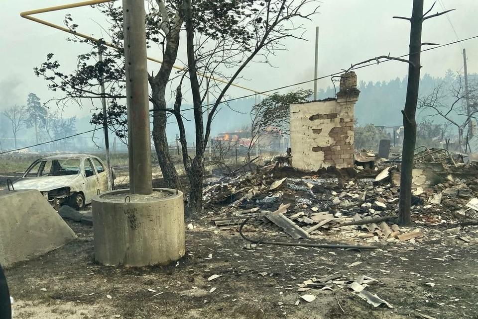 Многие люди потеряли все, что у них было. Фото: читатель КП