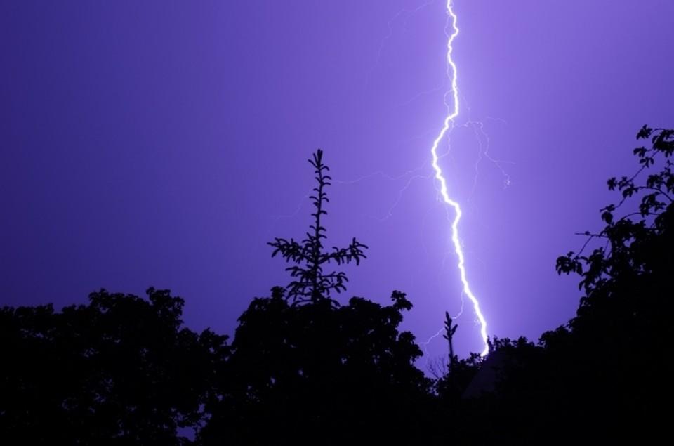 В Омск идет циклон с дождями и грозами.