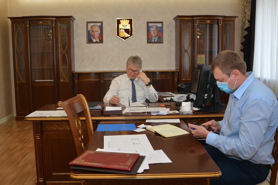 Председатель Воронежской городской Думы Владимир Ходырев